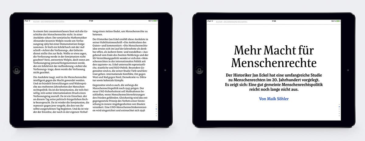 Amnesty Journal: Die Magazin-App von Amnesty International