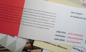 DAS Ereignis im Frankfurter Zoo: Ankündigung einer neuen Löwenfamilie im modernen Schriftsatz.