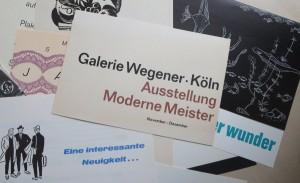 Einladung zur Vernissage: klassisch, rechtsbündig, Helvetica – was will man mehr?