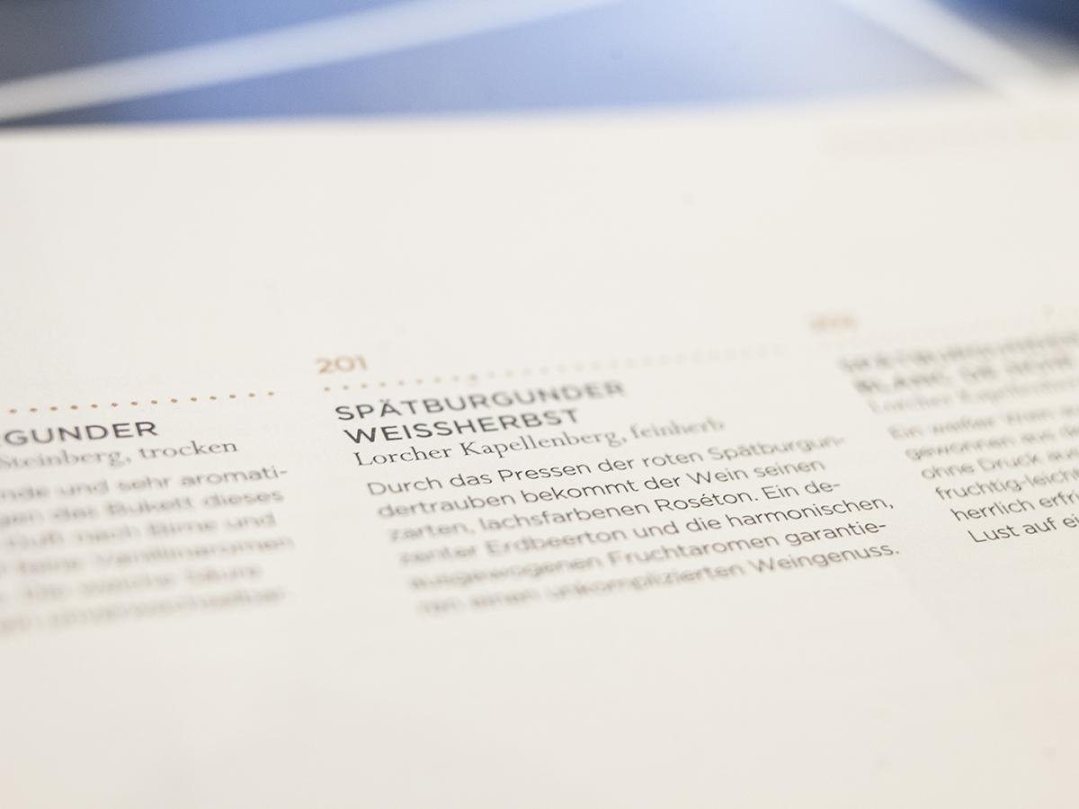 Print-Beispiel in den Workshops zu Typografie und Layouttechnik von TypeSCHOOL in Berlin.