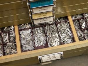 setzkasten im Workshop Bleisatz und Buchdruck mit TypeSCHOOL in Dresden.