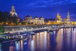 Dresden, Germany Skyline