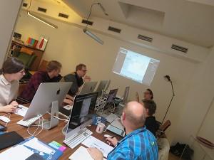 Bürocenter C16/18 Workshop-Raum von TypeSCHOOL