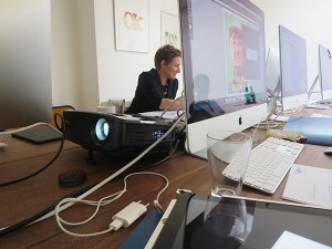 Eigene iMacs im Workshop vorhanden