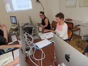 Bürocenter C16/18 Workshop-Raum von TypeSCHOOL in Düsseldorf