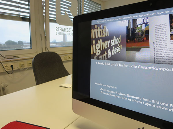 Workshop Typografie und Layout mit Adobe InDesign