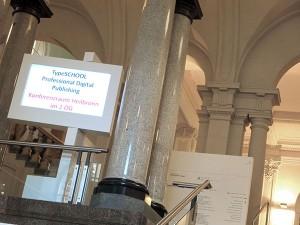 Typografie to go: Der Praxis-Workshop für das digitale Publizieren von Tablet-Apps im Haus der Wirtschaft, Stuttgart
