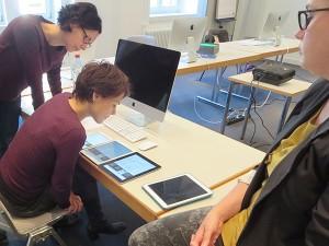 Teilnehmer Workshop mit TypeSCHOOL