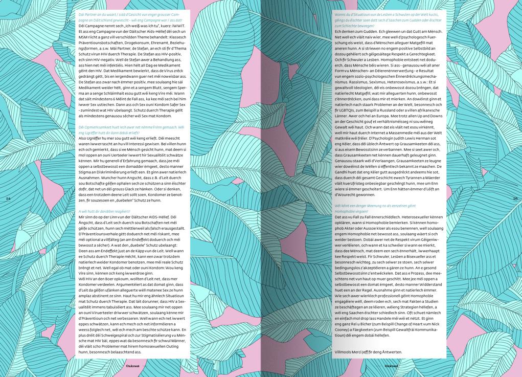 Typografie und Layout Workshop-Ergebnis von Gilles Scaccia
