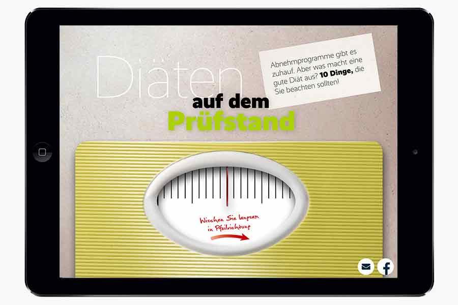 Bleib gesund: Die Magazin-App der AOK im Check – TypeSCHOOL: Workshops zu Typografie & Layout in ...