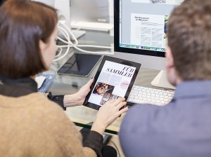Teilnehmer Digital-Publishing-Workshop