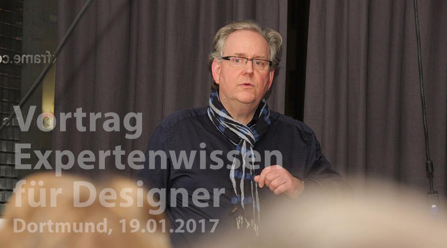 Langer Donnerstag in Dortmund: Uwe Steinacker präsentiert sein neues Expertenseminar zu Typografie, Layout und Druckproduktion