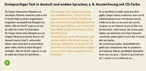 Fremdsprachensatz-Typografie-Auszeichnen-Mikrotypografie-Farbe