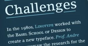 Slab Serif Fonts Linotype