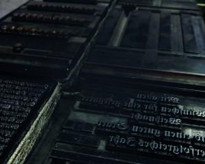 Bleisatz, Gutenberg