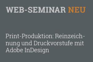 Workshop Fort- und Weiterbildung zu Print-Produktion