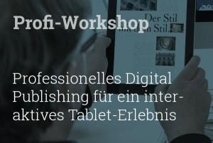 Workshop Tablet Publishing