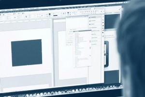 Arbeiten mit Adobe InDesign