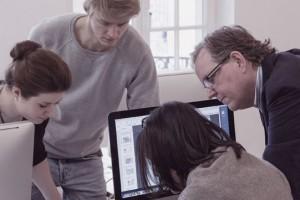 Beratung in der Gruppe bei einem TypeSCHOOL-Workshop