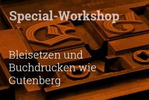 Hier finden Sie Infos zum TypeSCHOOL-SpecialWorkshop