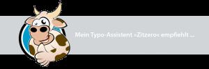 Mein Typo-Assistent Zitzero