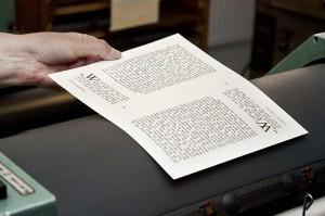 Bleisatz und Buchdruck Workshop in Dresden