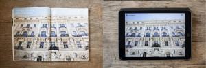 Tablet- und Printmagazin der Reisezeitschrift Merian