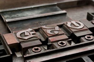 letterpressprint and handsetting in Dresden