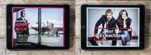 App-Magazin Me.Movies für Tablet