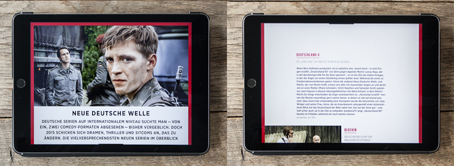 App-Magazin Me.Movies für Tablet