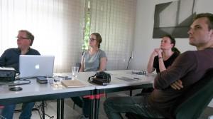 Bleisatz und Buchdruck Workshop in Dresden mit Uwe Steinacker
