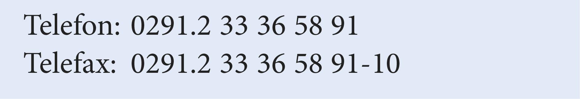 Beispiel für Tabellenziffern