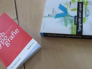 Weiterbildungsmaterialien im Einsatz bei den TypeSCHOOL-Workshops zu Typografie und Layouttechnik in Berlin.