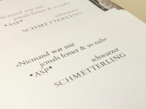 Bleisatz und Buchdruck wie zu Zeiten Gutenberg.