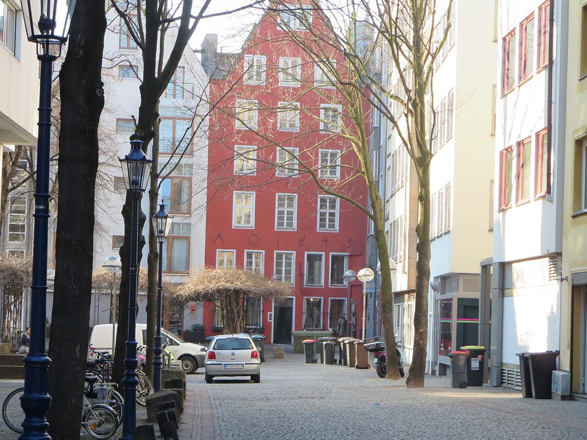 Beim Digital Publishing Workshop von TypeSCHOOL trafen sich die Teilnehmer im März in der Kölner Altstadt.