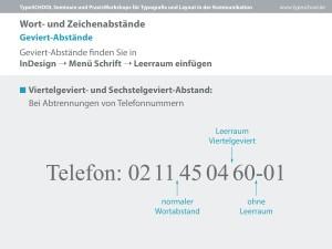 Abtrennen einer telefonnummer mit Gevierten