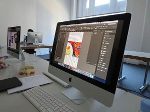 Weiterbildung Professionelles Digital Publishing für eine interaktive Tablet-App