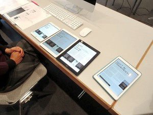 Professionelles Digital Publishing für eine interaktive Tablet-App