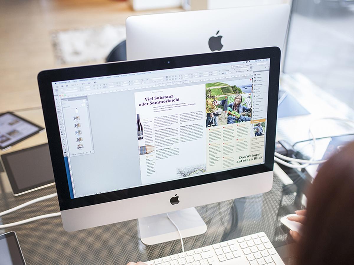 Workshop InDesign und Typografie mit Computer