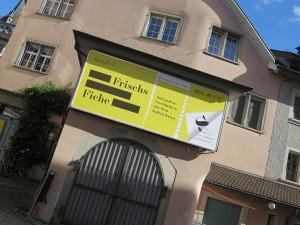 Typografie in Zuerich Plakate