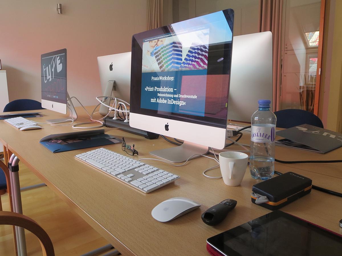 Training zum Thema Typografie und Layout in Wien