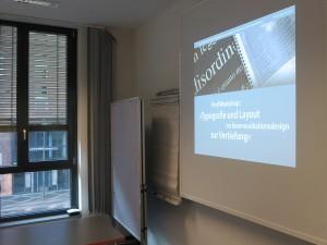 Digital Publishing Workshop mit InDesign und Aquafadas in der Frankfurt School of Finance and Management