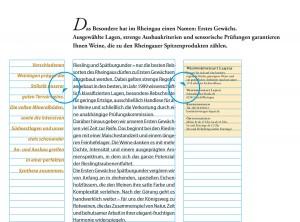 Marginalien anwenden in Typografie und Layout