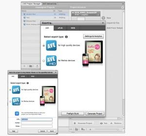 Scratch-Off Tutorial: Dokumente exportieren und ans Tablet senden