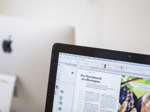 Moderne iMacs stehen jedem Workshop-Teilnehmer im Rahmen der Weiterbildung zur Verfügung.
