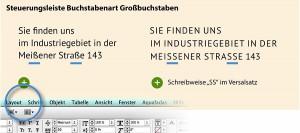 Automatische Umwandlung von ß in SS
