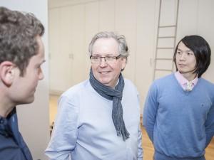 Workshop-Leiter Uwe Steinacker beim Expertenseminar zu Typografie, Layout und Druckvorstufe