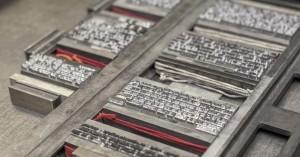 Magazinproduktion im Wandel der Zeit: Bleisatz