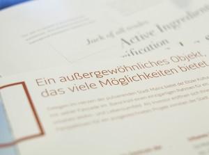 TypeSCHOOL-Workshops zu Layout, Typografie und Print-Produktion in der Stadtgärtnerei in Zürich
