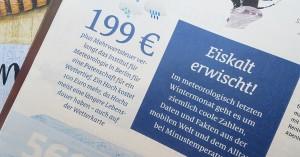 Eine Slab Serif Font als Leseschrift im Magazin ADAC Motorwelt